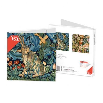 8 Blank Notecards - 2 ass - Tapestry Wildlife